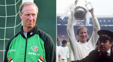 The great Jack Charlton dies aged 85